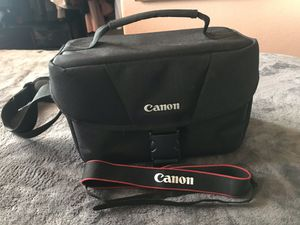 Canon camera bag and strap for Sale in Phoenix, AZ