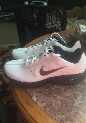Nike white golf tennis shoe for Sale in Germantown, MD