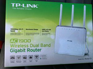 Tp-link ac 900 WiFi router model archer c9 for Sale in Chula Vista, CA