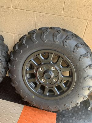 2020 new Honda Talon 1000R set of wheels and tires new! for Sale in Orlando, FL