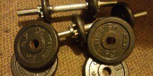 Dumbbell weights for Sale in Fort Wayne, IN