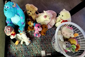 Stuffed animals for Sale in Kimberly, WI