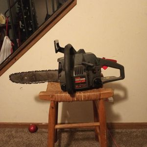 Serious Inquiries Only Craftsman Gas Powered Chain Saw for Sale in Cuyahoga Falls, OH