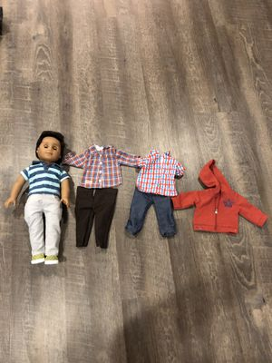 American Girl Doll Boy + Clothes for Sale in LUTHVLE TIMON, MD