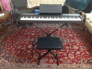 CASIO DIGITAL PIANO CDP-100 for Sale in Los Angeles, CA
