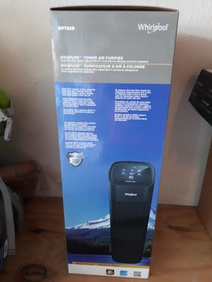 Whirlpool Whispure WPT80B, True HEPA Purifier, Activated Carbon Advanced Anti-Bacteria, Large for Sale in Murphy, TX