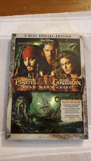 Pirates of the Caribbean: Dead Man's Chest for Sale in Orange, CA