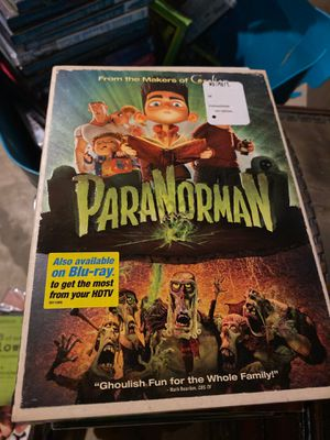 Paranorman DVD, new for Sale in Plainfield, IL