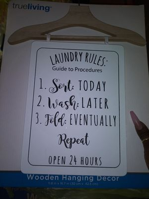 Laundry room decor for Sale in St. Louis, MO