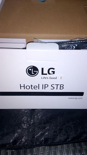 LG HOTEL IP STB 5500 Hospitality HD/TV receiver for Sale in San Diego, CA