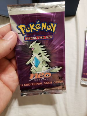 Pokemon 1st edition Neo Destiny booster pack for Sale in Sacramento, CA