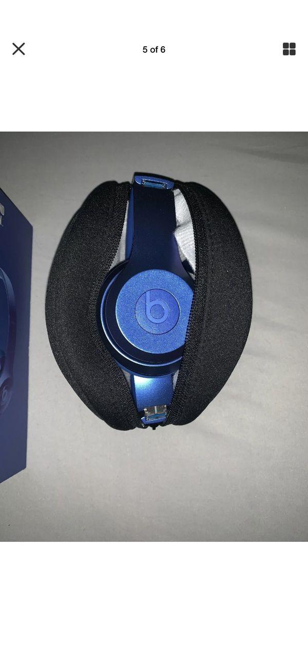 Dr Dre Beats Headphones Royal blue Edition