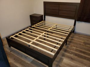 7 Pcs Bedroom Set Includes Queen Bed, 1 Night Stand, Dresser, Mirror, Chest, Mattress & Boxspring $769 FREE LOCAL DELIVERY & SET UP for Sale in San Bernardino, CA