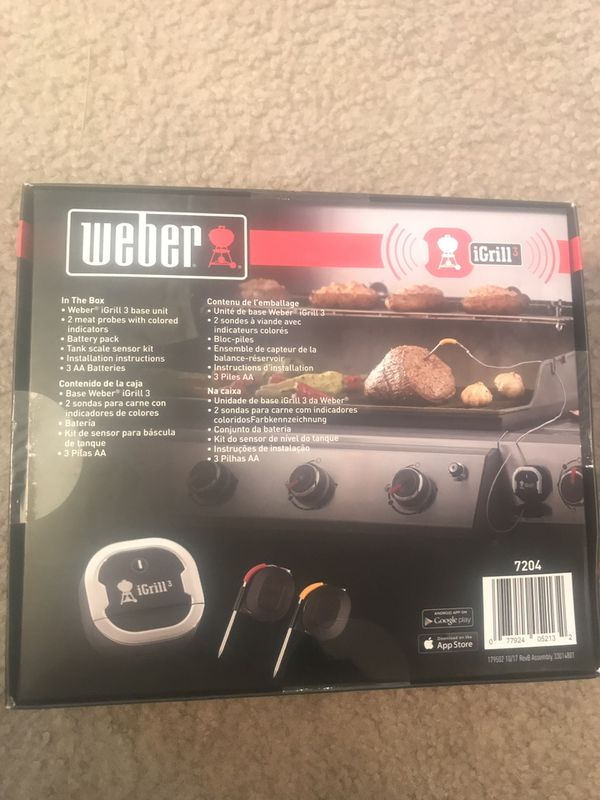 Weber igrill 3 thermometer