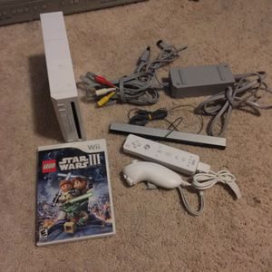 Nintendo Wii With LEGO Starwars for Sale in Austin, TX