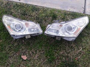 2008/2013 Infiniti g35 headlights..hood for Sale in Colton, CA