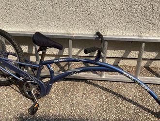 Folder 1 Adams Trail A Bike Kids Child Trailer Bike Blue for Sale in San Lorenzo,  CA