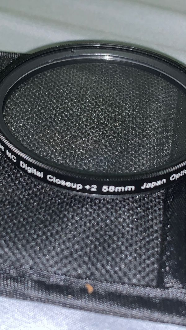 58mm DSLR camera filters (3) (up close filters)
