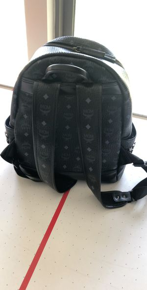 Mcm black backpack for Sale in Greenfield, WI