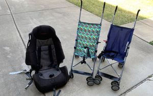 Car seat + strollers for Sale in Dallas, TX