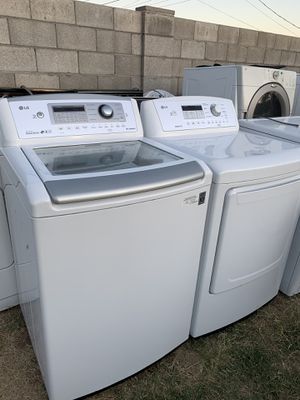 Lg washer and dryer set (like new)@delivery available for Sale in Phoenix, AZ