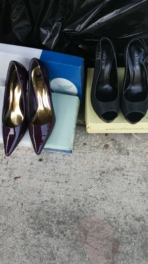 Shiekh heels 8 1/2, cathy jean heels 8 1/2 for Sale in Castro Valley, CA