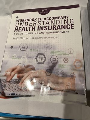 Workbook to accompany understanding health insurance 14th edition for Sale in Irvine, CA