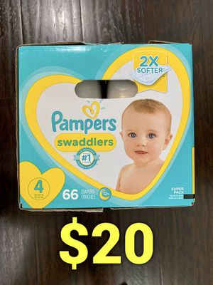 Pampers Swaddled size 4 for Sale in Long Beach, CA