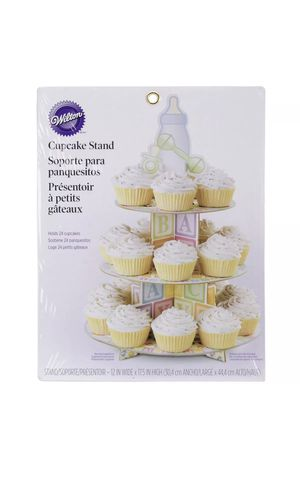 Cupcake Holder 3-Tier Baby Shower Party for Sale in Hialeah, FL