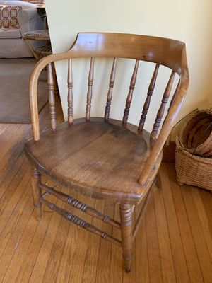 Antique Captain's Chair for Sale in Seattle, WA