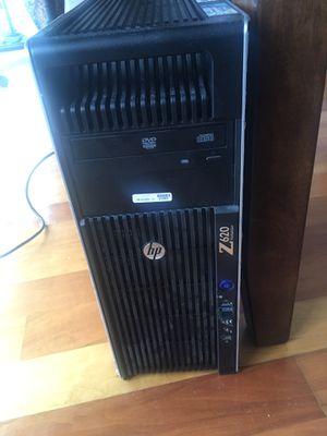 Desktop hp z620 - win10- 32 GB RAM for Sale in North Bergen, NJ