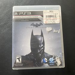 PS3 PlayStation 3 Batman Arkham Origins Video Game for Sale in Tacoma,  WA