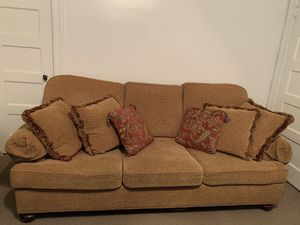 Light Brown Couch for Sale in Washington, DC
