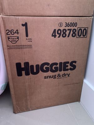 Huggles snug & dry size 1 for Sale in Miami, FL
