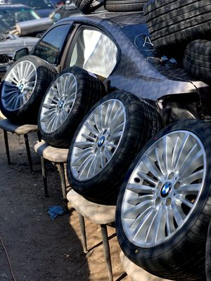 """Brand new tires on 2018 bmw 18"""" wheels for Sale in Austin, TX"""