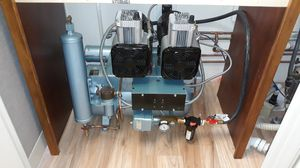 "DENTAL AIR COMPRESSOR, AIR TECHNIQUES, MODEL ""AS 3"", for Sale in Pompano Beach, FL"