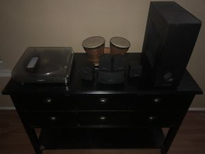 Entertainment cabinet for Sale in Magnolia, TX