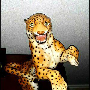 Italian Ceramic Leopard by Ronzan Ceramiche for Sale in Port Charlotte, FL