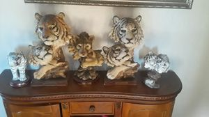 tiger statue collection for Sale in Fontana, CA
