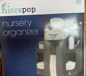 New in Box Grey or White Hiccapop Nursery Changing Table Organizer for Sale in Mill Creek, WA