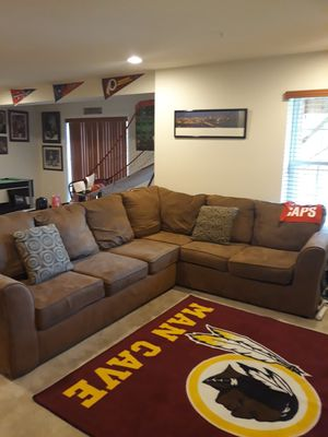 Sectional Couch with Pillows for Sale in Woodbridge, VA