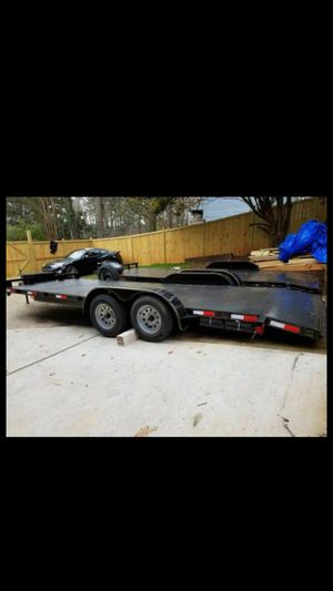 2018 Car trailer or equipment trailer for Sale in Lawrenceville, GA