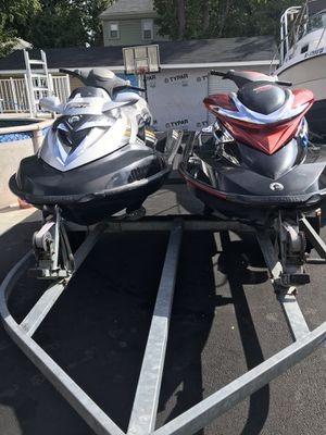 Two jet ski s for sale 2006 and 2008 3 seats supersharga for Sale in East Providence, RI