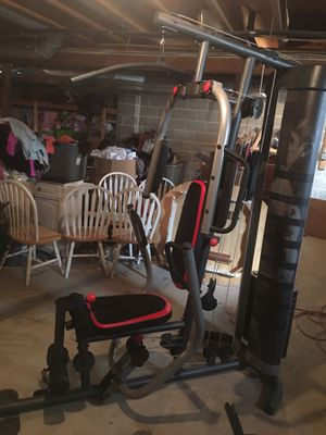 Weider pro home gym set 240 lbs (new) for Sale in Monroe Township, NJ