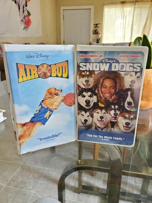 Two dog movies vhs for Sale in Stockton, CA