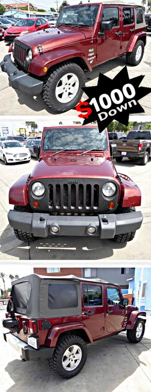2010 Jeep WranglerUnlimited Sahara 4WD , for Sale in South Gate, CA
