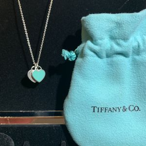 Tiffany & Co. Mini Double Heart Tag Pendant for Sale in San Marcos, CA