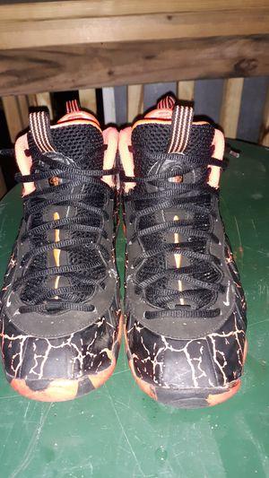 Nike Lava Magma Foamposite Sneakers size 7 for Sale in Paterson, NJ