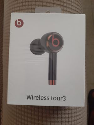 BEATS WIRELESS TOUR 3, BEATS BLUETOOTH EARPHONES, BEATS, BLACK BLUETOOTH EARPHONES, BEATS EARPHONES, BEATS BY DR. DRE, BEATS BLUETOOTH for Sale in Los Angeles, CA