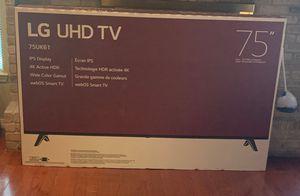 """LG UHD TV 75"""" for Sale in Laredo, TX"""